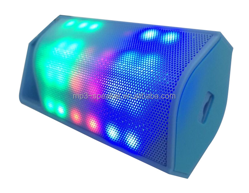 shenzhen protable bluetooth <strong>speaker</strong> with colour light MPS361