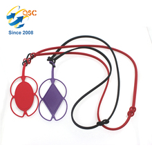 Cheap Back Strap Security Lanyard Silicone Mobile Phone Holder