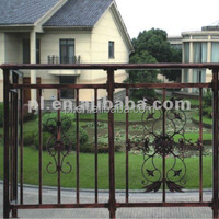 casting steel fence grill design for garden (China manufacturer)