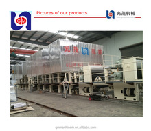 2100mm fourdrinier muti-cylinder mould and multi-dryer can test liner making plant kraft paper manufacturing machine