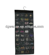 Multi-function dress shaped hanging jewelry organizer