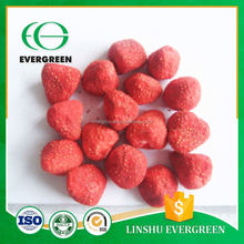 Chinese high standard healthy snack food frozen dried strawberry