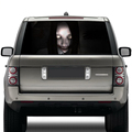 new arrival popular horrible high beam ghost decal car rear windshield window oracal vinyl stickers with uv proof