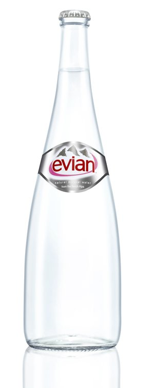 Evian bouteilles en verre 20 x 330 ml 12 x 750 ml autres nourritures et boi - Evian bouteille verre ...