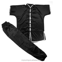 Martial arts clothing imitated silk kung fu uniform