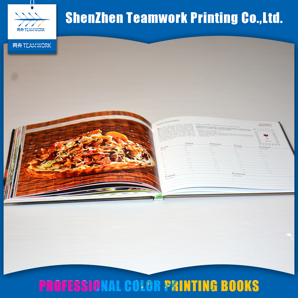 Popular design short run book printing my hot book printing services