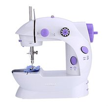 Yiwu Zogift 2018 Electric Mini Portable Handheld Domestic Button Sewing Machine Industrial