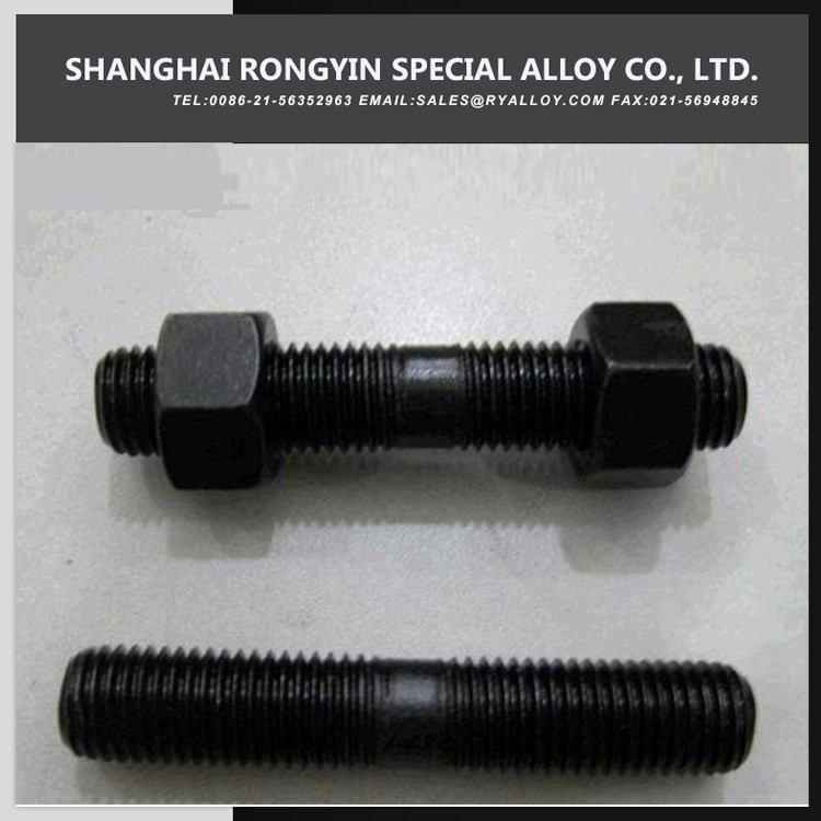 Different Dimensions Professional Manufacturer Carbon Steel Astm A193 B7 A194 2H Stud Bolts And Nuts
