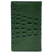 Luxury and fashionable crocodile pattern leather eel skin wallets