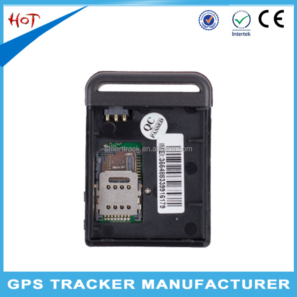 Online gps sim card tracker tk102b gps tracking sensors small satellite gps tracker