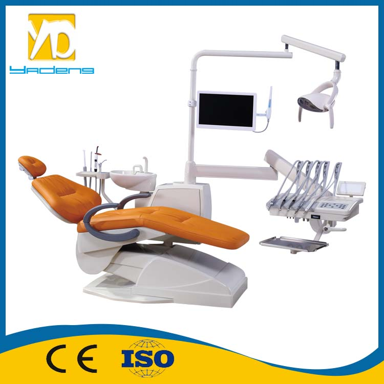 Electricit Power Source and Dental Chair Type Real Leather luxury dental chair /dental unit