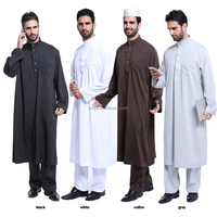 Buy middle east fashion clothing muslim men clothing FN6022 in ...