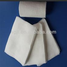 TUV CE & ISO certified absorbent medical sterile gauze piece