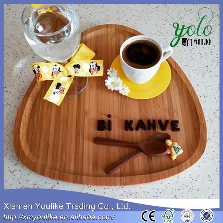 Bamboo Tea, Coffee,Snack Serving Triangle Tray 1.jpg