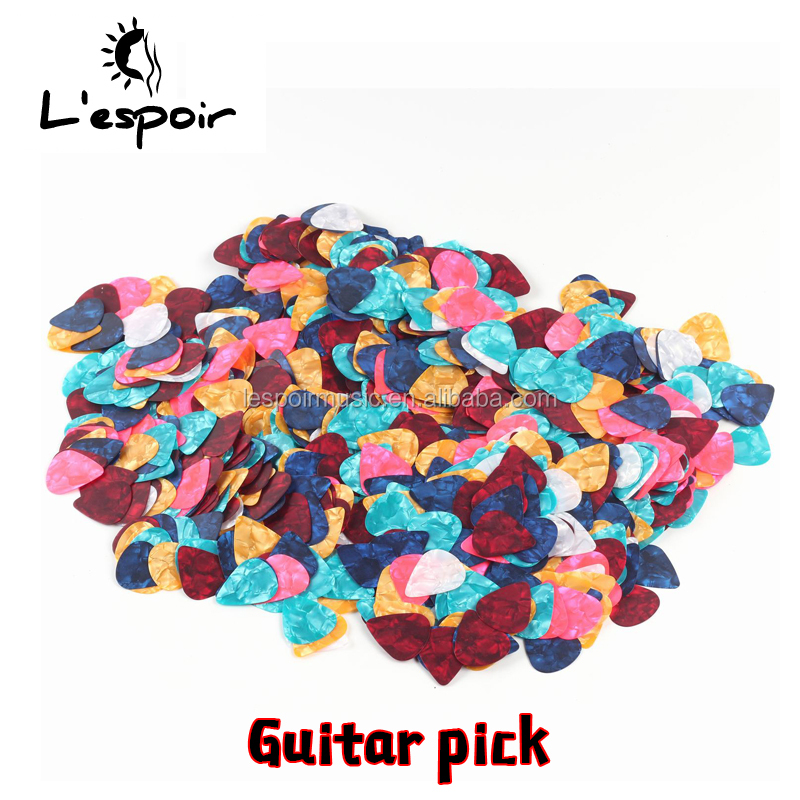 OEM with wholesale high quality celluloid guitar picks for guitar plectrum