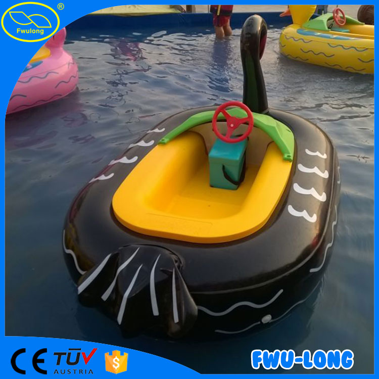 Original manufacturer cheap coin system amusement water park inflatable bumper boat tube
