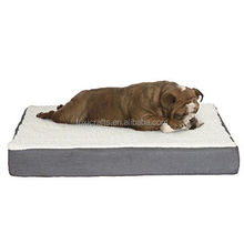 waterproof cushion Deluxe Plush Orthopedic Dog Pet Bed memory foam dog mattress