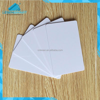 Blank Polycarbonate ID Card With Transparent