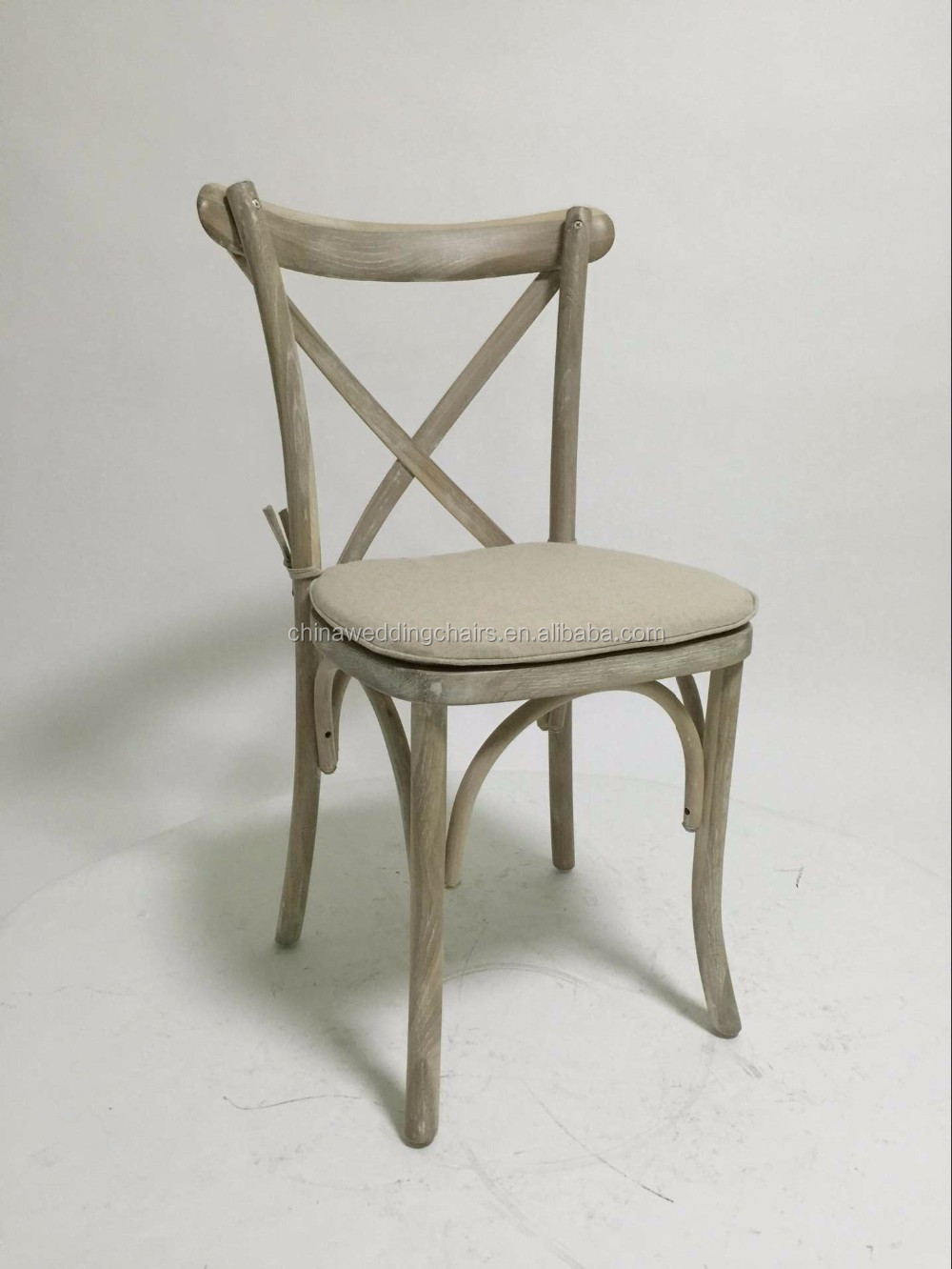 <strong>Oak</strong> solid cross back chair