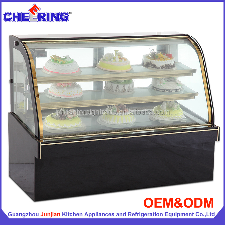 fridge bakery products forzen pastry chinese display cabinet full automatic cake making machine