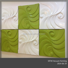 POP decorative 3D wall board 3D wall panel