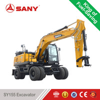 SANY SY155 15 Tons Small rc Hydraulic Excavator Trench Digging Machine