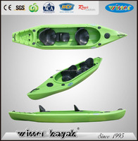 Winner 4.00mtr double fishing kayak CANNONBALL