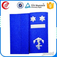 Military uniform shoulder board cheap custom royal navy boards