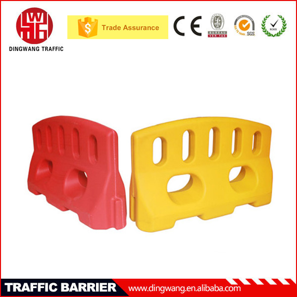 China Gold Supplier DINGWANG New Plastic Road Work Barrier