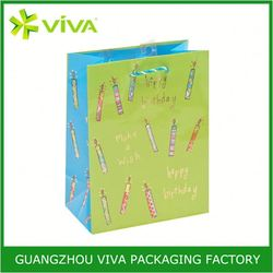 Best Sell paper cheap custom shopping bags in guangdong