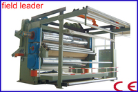 three rollers/rolls/cylinders/bowls calender machine
