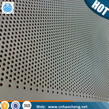 2507 Duplex stainless steel perforated metal/ perforated sheet/ perforated plate for decoration