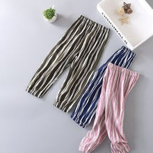 2017 summer new design baby cotton pants trousers