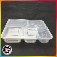 Plastic Box Food With Divider