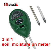 Best selling 3 in 1 soil moisture ph meter soil moisture sensor
