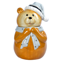 lovely ceramic teddy bear cookie jar wholesale