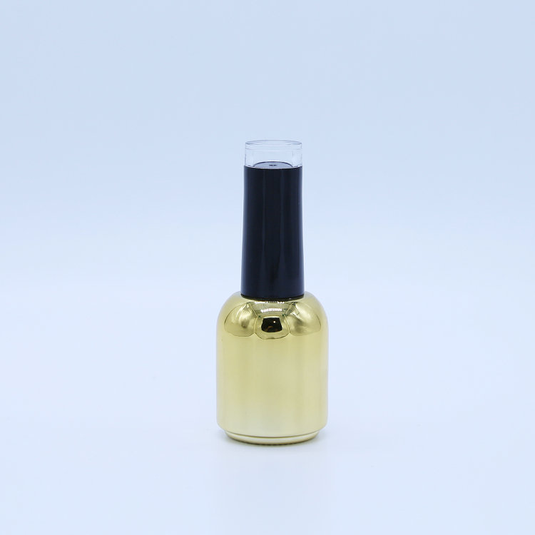 Glass Fancy 8ML Empty Nail Polish Bottle With Brush In Stock