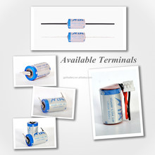 3.6v lithium battery 1/2aa er14250 1200mah for medical,Smoke Detector