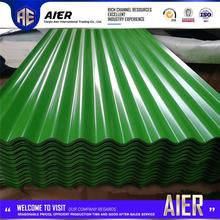 Hot selling corrugated metal roof zinc coated steel prepainted tile with great price