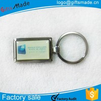 no minimum custom logo metal keychain wholesales