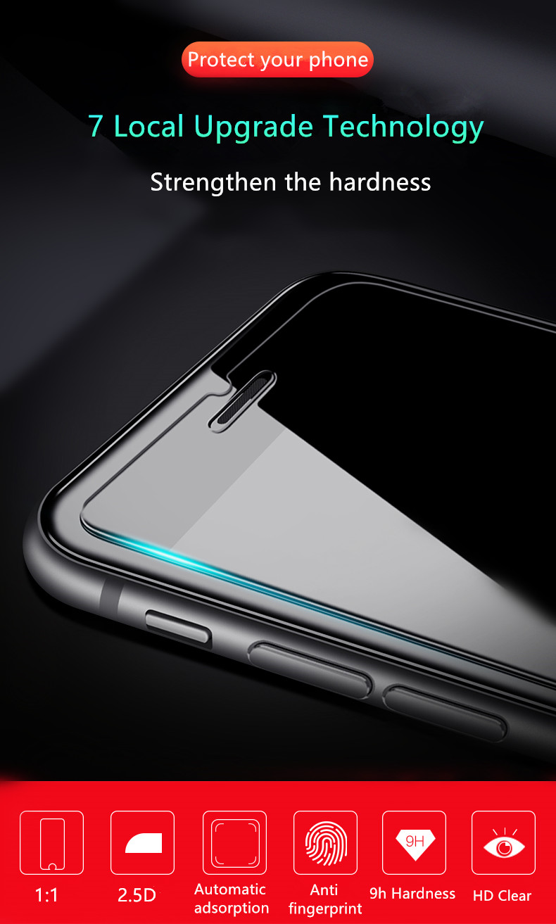 Allvcover iPhone tempered glass screen protector (3)