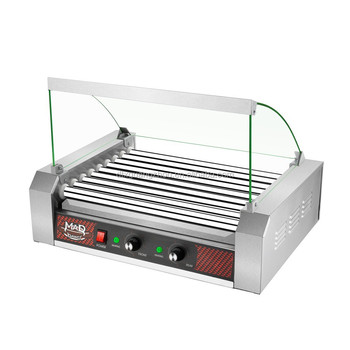 Hotdog 9 Roller Machine With Cover 4284 GNP