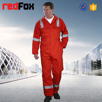 EN471 safety reflective coverall sample for security uniform
