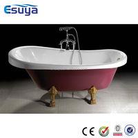Shanghai manufacturer bathroom sex bath lady love chinese supplier clear acrylic 4 foot bathtub