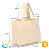 Superior custom printed promotional cotton canvas sling tote bag
