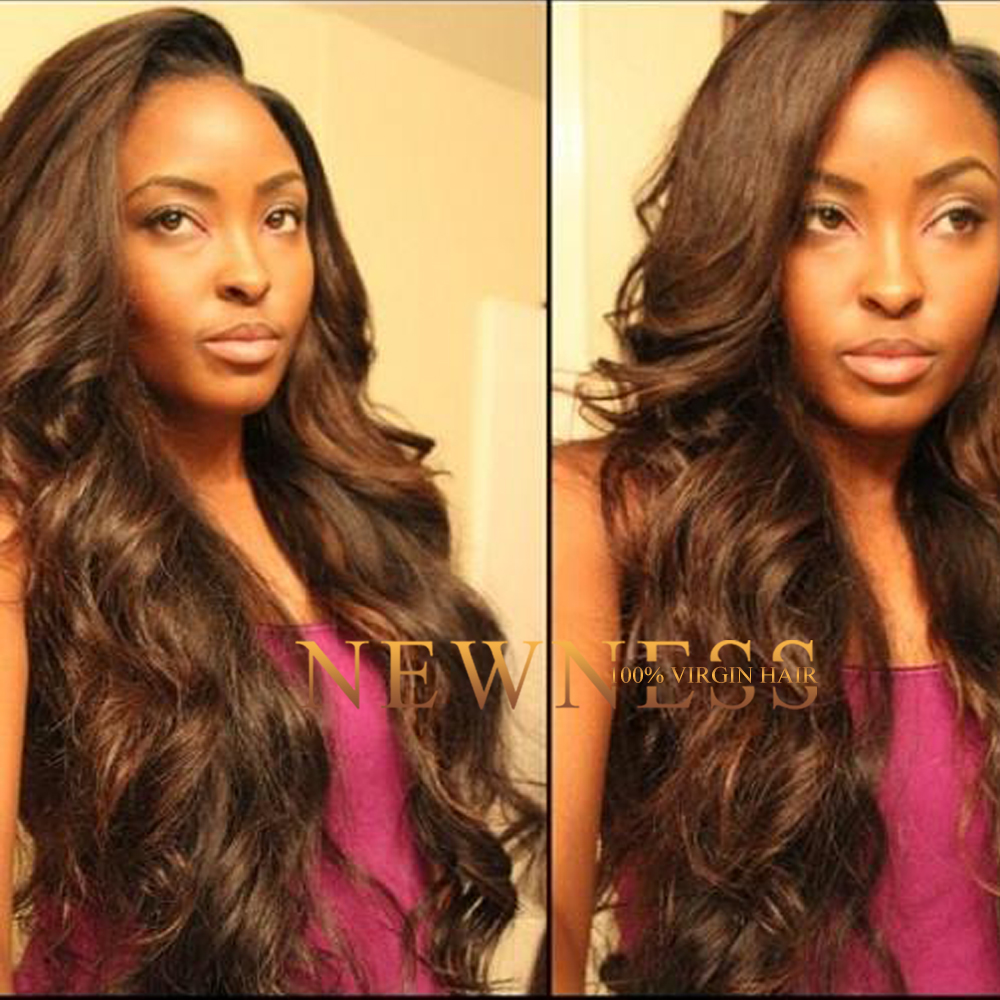 Newness Hair curly hair hairstyles malaysian deep wave 32 inch hair extensions