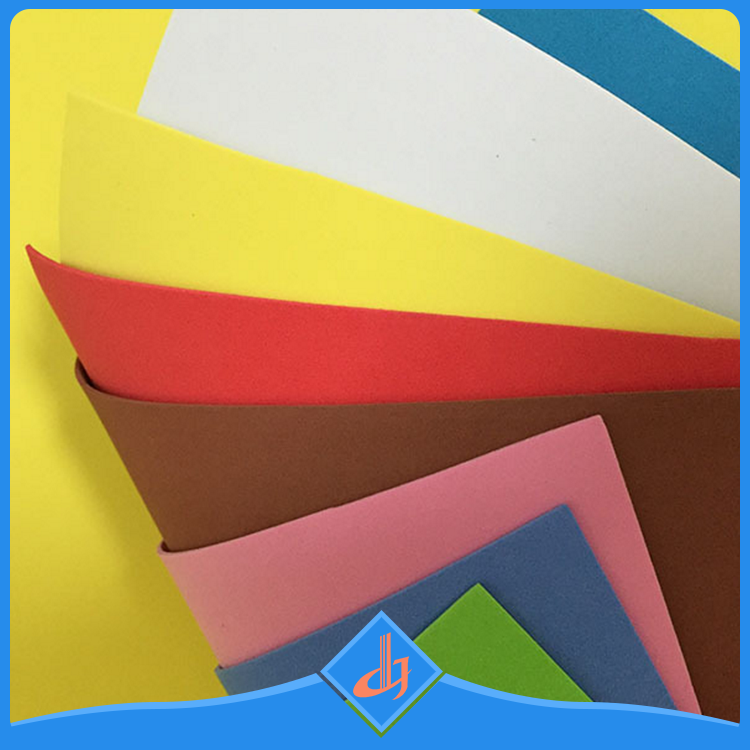 Custom non-toxic wearability white thin rubber eva foam sheet