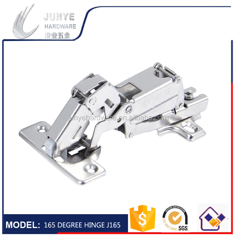 Steel nickel plated 35mm cup 165 degree concealed hinge cabinet hinge