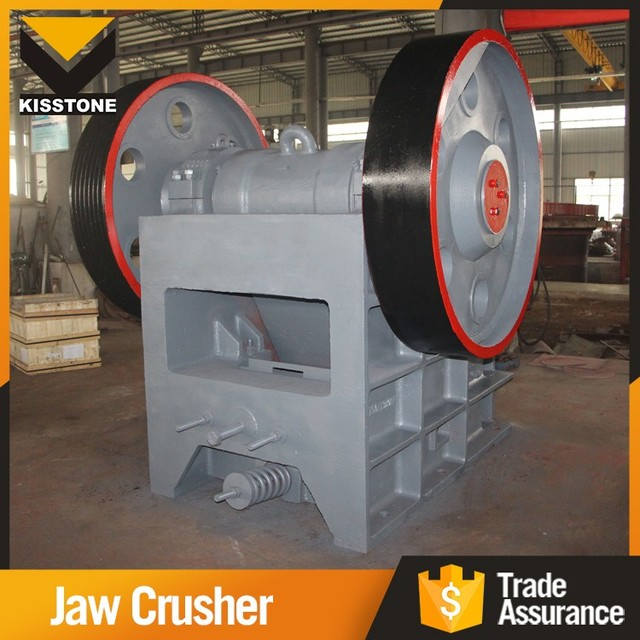 High efficiency granite jaw crushing machine industrial used crusher for sale