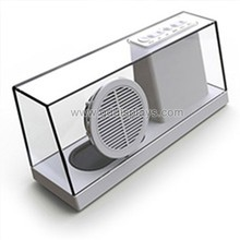 wholesale fashion clear small empty acrylic speaker box